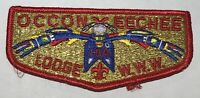 OA Lodge 104 Occoneechee Flap GMY Red FDL Mint BC2