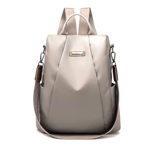 Women Girls Waterproof Travel Backpack Anti-theft Double Shoulder Bag Handbag