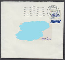 Netherlands to Turkey Philatelic Cover ( Bicycle ) ( 408 )