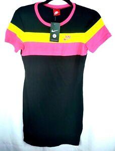 Nike Women's Colorblock Multi Sportswear T-Shirt Dress-NWT