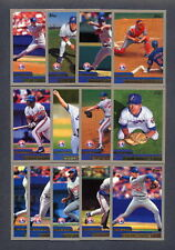 2000 Topps Montreal Expos TEAM SET (17) w/ Traded