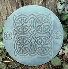 Gothic Pagan Wicca Celtic mold decorative stepping stone mould