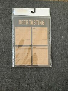 Beer Tasting Score Cards-1 Pack (10 Ct Of Cards). Includes 1 Sticker Sheet
