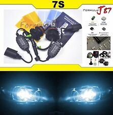 LED Kit 7S 50W 9007 HB5 8000K Icy Blue Head Light Two Bulbs Dual Beam Upgrade