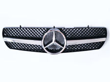 Black/Chrome CL Grille Grill for 99-06 Mercedes Benz W215 Class CL65 CL500 CL600