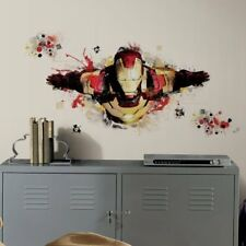 Marvel Iron Man 3 Removable and Reusable Wall Decal Mega Pack