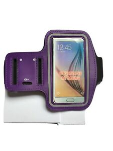 """SMARTPHONE SPORTS BAND FOR IPHONE 6/6S AND MOST 4.7"""" Phones Purple Key Holder"""