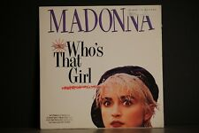 "MADONNA WHO'S THAT GIRL 12"" SINGLE LP. NEAR MINT 45 RPM"