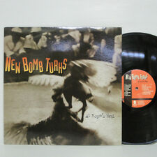 NEW BOMB TURKS - At Rope's End LP 1998 US ORIG EPITAPH ZEKE SUPERSUCKERS GTARAGE
