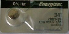Energizer Watch Battery 341 replaces SR714SW, V341, and AWI S36