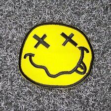 IRON PATCH LOGO embroidered sew BADGE heavy metal punk NIRVANA music rock band