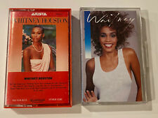 Whitney Houston Lot of 2 Cassette Tapes Arista BMG 1985 & 1987