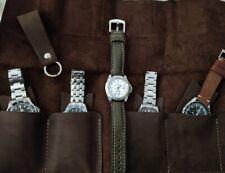 Personalisierte Leder Watch Roll ansehen, Roll, Uhr Lagerung Leder Watch Case
