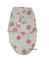 Bebé Swaddle Manta Para Niña De 0-3 meses de Rosa/Multi Saco de dormir cálida y suave de regalo