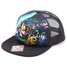 NEW OFFICIAL Nintendo Star Fox Zero 0 Baseball Cap Hat Snapback