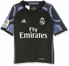 Adidas Third T-shirt Real Madrid 2016/17 Boys #ai5143 Black 152