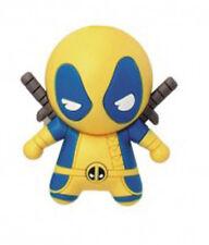 Marvel X-Men Yellow Suit Deadpool Figural Rubber Key Chain