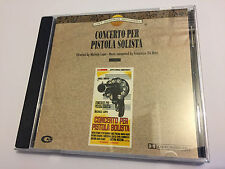 CONCERTO PER PISTOLA SOLISTA (Francesco De Masi) OOP Soundtrack Score OST CD EX