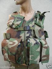AFGHANISTAN : GILET MIMETIZZATO MULTI-TASCHE MILITARE AFGANO ideal paintball