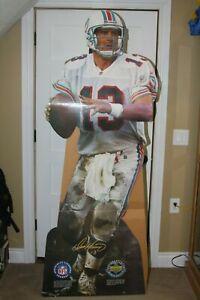 Vintage Dan Marino Life Size Upper Deck 1996 Standee Miami Dolphins NFL QB
