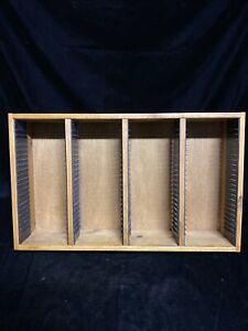 Wooden CD Rack For Wall Or Floor 96 CDs