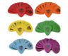 Dunlop Tortex STANDARD Guitar Picks 12 Pack Red Orange Yellow Green Blue Purple