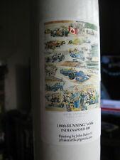 2016 Indy 500 100th Race Recap Poster