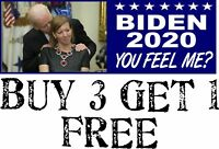 "Joe Biden 2020 President Decal Bumper Sticker 8.8"" X 3"" Trump MAGA Biden Decal"