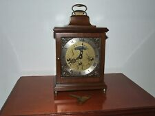 Dutch Wuba Warmink 8 day,Walnut, table / bracket / mantle clock, Westminster