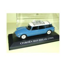 CITROEN ID 19 BREAK 1960 Bleu et Blanc ALTAYA 1:43