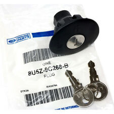 OEM NEW Locking Gas / Fuel Tank Plug Cover Cap w/ 2 Keys Ford 8U5Z-9C268-B