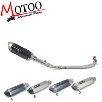 Soto-racing Complete Exhaust System Muffler Pipe For Yamaha YP500 TMAX 500 01-07