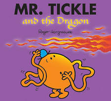 NEW sparkly MR TICKLE and the DRAGON (BUY 5 GET 1 FREE book) Little Miss Men