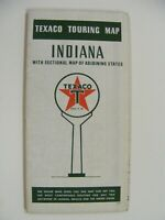 Vintage 1939 Indiana Texaco Touring Map