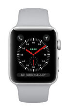 Apple Watch Series 3 38mm Silver Aluminium Case with Fog Sport Band (GPS) - (MQKU2LL/A)