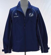 CCM Mens Tampa Bay Jr Lightning Jacket Windbreaker Medium Blue