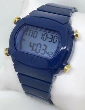AdidasAdidas Candy Quartz Digital Multi-Function Unisex Watch Blue/Gold ADH6043