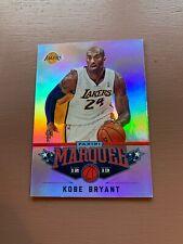 2012-13 Marquee Basketball: Kobe Bryant Silver Foil