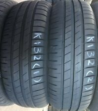 2x 195 65 15 91V GOODYEAR  EFFICIENT GRIP PERFORMANCE  2X6MM & 2X7MM TREAD REMA