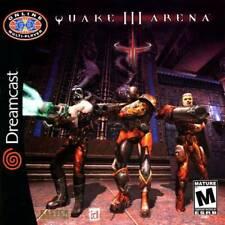 Quake III Arena Sega Dreamcast Game Used