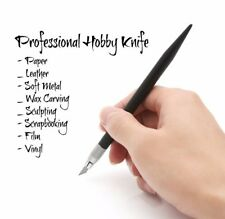 12 Piece Professional Hobby Art Craft Razor Knife Kit Precision Razor