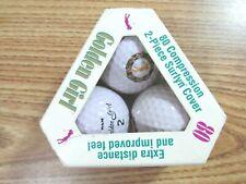 Vintage Ram Golden Girl Surlyn Golf Balls (3 Pack)