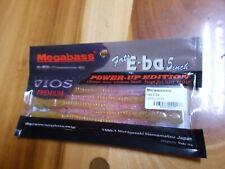 """WOW! Megabass Fats E-ba 5"""" worm 5 pack Cherry Shrimp"""