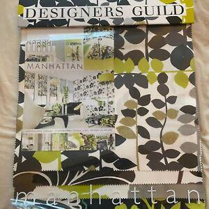 Designers Guild - Manhattan    - Fabric Sample Book