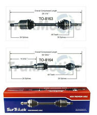 For Toyota Avalon FWD 2005-2007 3.5L V6 Pair of Front CV Axle Shaft SurTrack Set