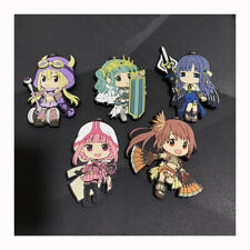 Game Magia Record Japan Rubber Pendant Keychain Accessories Cos Gift