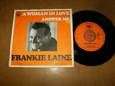 FRANKIE LAINE - A WOMAN IN LOVE - ANSWER ME  / LISTEN - POPCORN