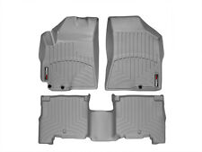 WeatherTech Floor Mats FloorLiner for Hyundai Santa Fe - 2010-2012 - Grey