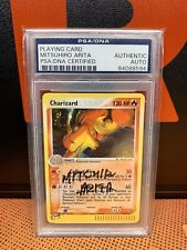 PSA Pokemon Signature Card EX Dragon 100 Charizard Signed Mitsuhiro Arita Auto