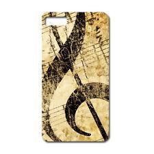 CUSTODIA COVER CASE CHIAVE VIOLINO MUSICA SUONO STRUMENTO PER IPHONE 5C